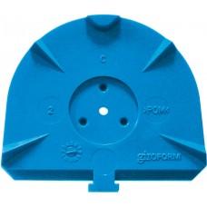 Цокольные пластины Giroform Classic L, синие
