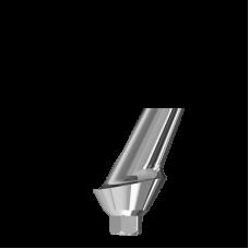 Угловой титановый абатмент 25° с шейкой 2 мм