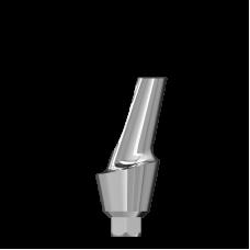 Эстетический угловой абатмент 15 с шейкой 3 мм
