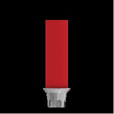 Прямой пластиковый абатмент с металической основой с конусным соединением, WP