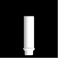 Прямой пластиковый абатмент без шестигранника, узкая платформа